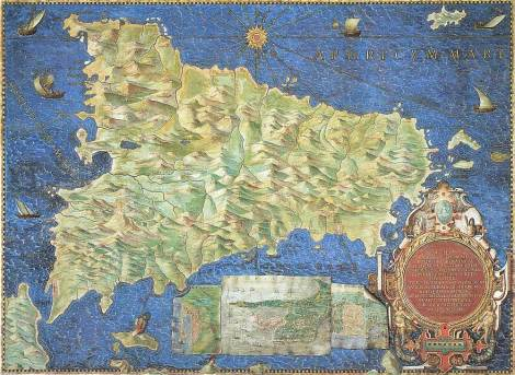 Gallery of the Geographic Maps, Vatican City, Rome.
